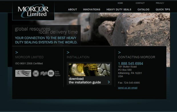 Morcor Website